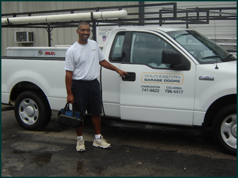 Southeastern Garage Doors, a full service garage door company.