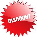 We offer a 5% Senior Citizen Discount.